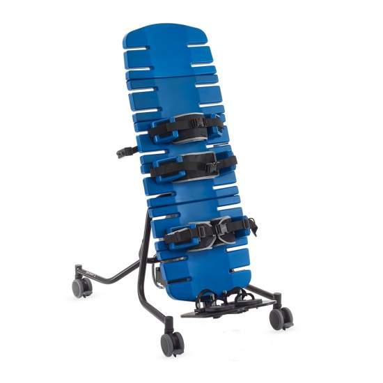 Bipedestador Supine Stander - El supine Stander de Jenx es un bipedestador robusto y fácil de usar. Ofrece soporte y seguridad sin igual en tres tamaños. Es adecuado tanto para niños desde los 9 meses como para adultos hasta 100 kg.