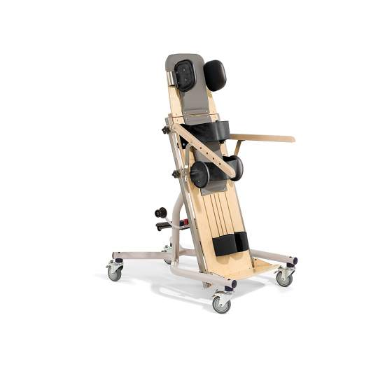 Supine Stander Rifton - The Supine Stander Rifton is very stable, fully adjustable and easily tipped. The height adjustment provides versatility to adapt to the needs of different users.