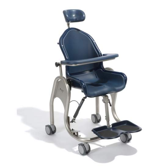 Children's pool Boris chair - Boris can be used as a commode chair or shower chair.