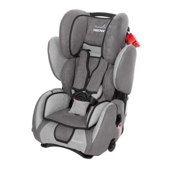 Car seat Recaro Sport - The Reha Sport Recaro seat is safe, lightweight, easy to install and move thanks to its swivel base, designed to grow with the child from Class I to Class III and a wide range of accessories.