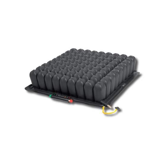 Cojín Quadtro select® Roho - El cojín Quadtro select® combina las cualidades de posicionamiento, protección de la piel y estabilidad. Cada usuario puede beneficiarse de una adaptación personalizada del cojín mediante el simple accionamiento de un botón.