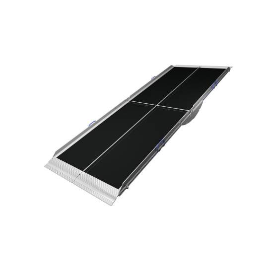 Folding ramp Aerolight Lifestyle - By design Aerolight Lifestyle has been established as one of the most innovative market ramps. This unique model is split folding ramp into two halves, which provide it with great lightness and ease of storage.
