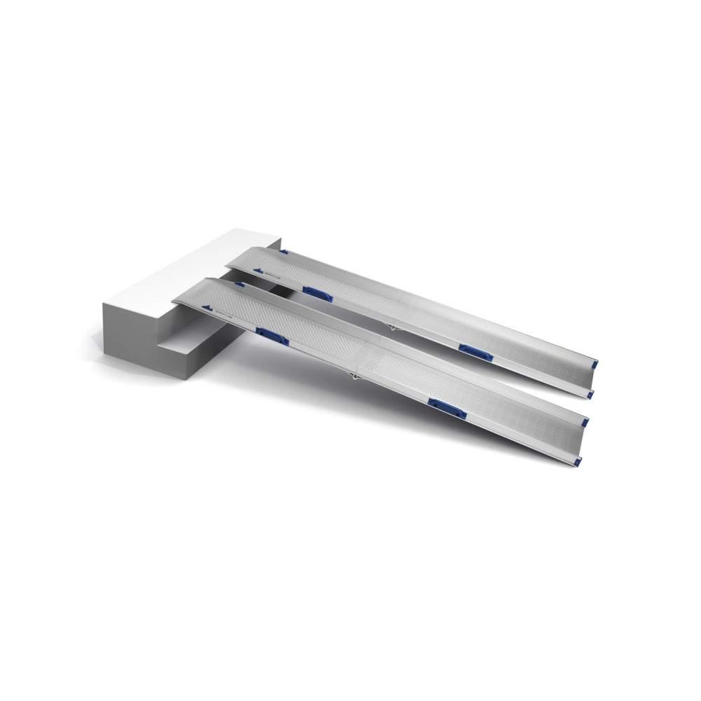Rampa para silla electrónica - Perfolight-E, indicada especialmente para sillas electrónicas.