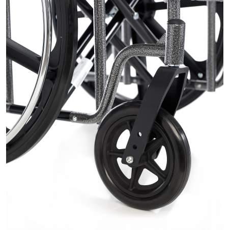 Steel wheelchair Bariatric HERCULES 160 Kg.