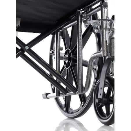 Acier en fauteuil roulant bariatrique 180 kg.