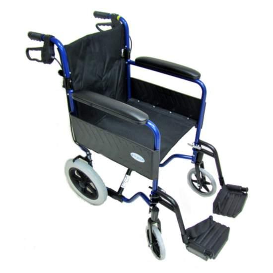 CARROZZINA alluminio leggero TransLite 1428SR - Alluminio leggero sedia a rotelle