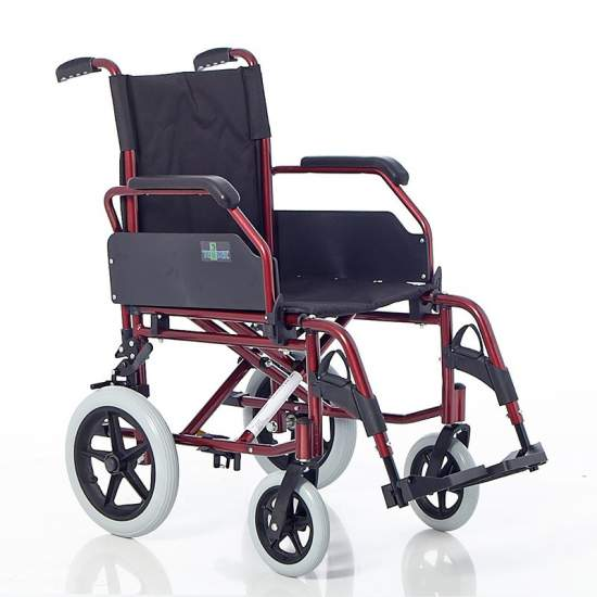 Silla de ruedas de aluminio FORUM 312 - Silla de ruedas de aluminio FORUM 312
