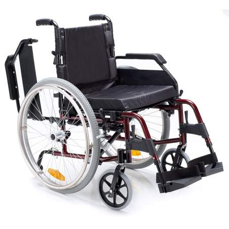 Wheelchair VENETTO 600 solid aluminum wheels