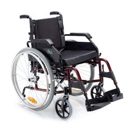 Venetto sedia a rotelle 600 ruote in alluminio solido