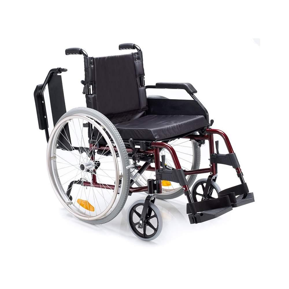 VENETTO Silla de ruedas de aluminio 600 ruedas neumáticas - VENETTO Silla de ruedas de aluminio 600 ruedas neumáticas