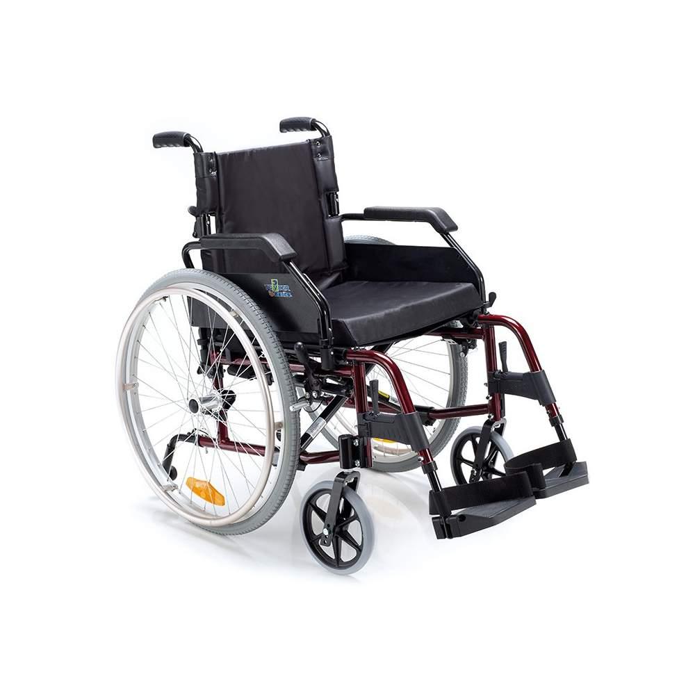 Venetto silla de ruedas de aluminio 600 ruedas neum ticas - Sillas de ruedas de aluminio plegables ...