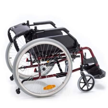 Wheelchair VENETTO aluminum pneumatic tires 600