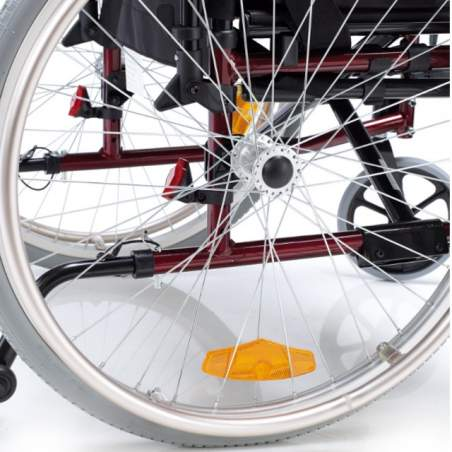 Venetto en fauteuil roulant 315 aluminium roues pleines