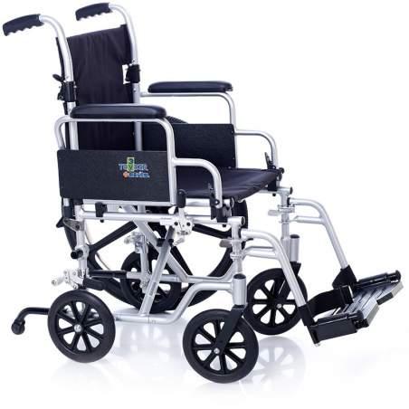 Transit aluminium en fauteuil roulant OXFORD 6 roues