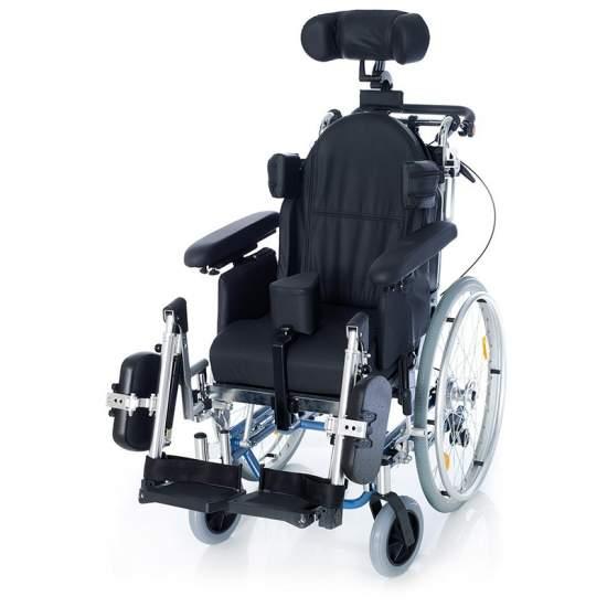 Encostado cadeira de rodas e inclinação RC3 alumínio - Encostado cadeira de rodas e inclinação RC3 alumínio