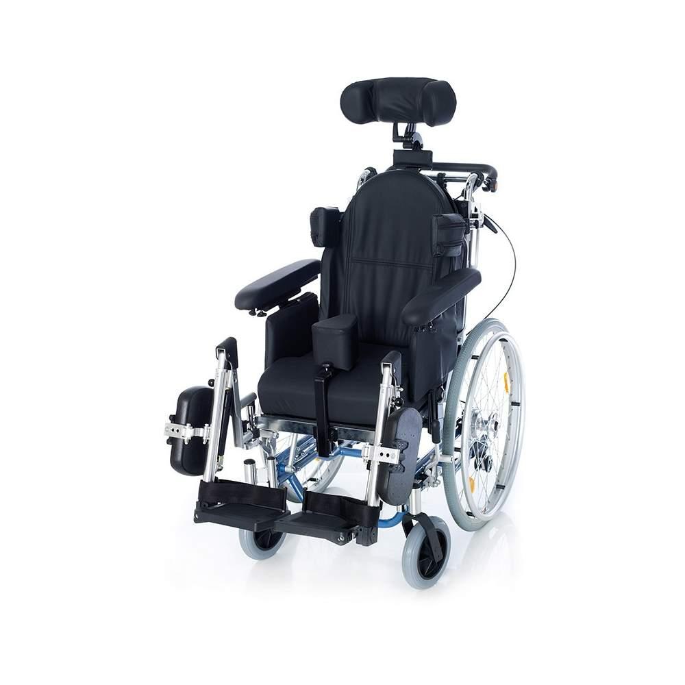 Encostado cadeira de rodas e inclinação RC3 alumínio