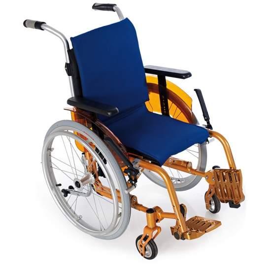 Alluminio sedia a rotelle bambini evolutivo BAMBINI UNIVERSALI - Alluminio sedia a rotelle bambini evolutivo BAMBINI UNIVERSALI