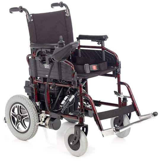 Istanbul, Folding Wheelchair - Folding Chair Electronic Wheel