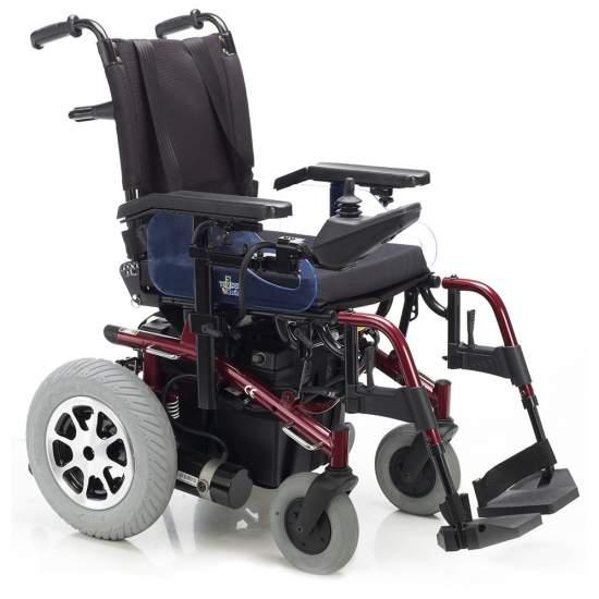 Montreal, inclinando sedie a rotelle elettronica e reclinabili manualmente - Sedia con luci