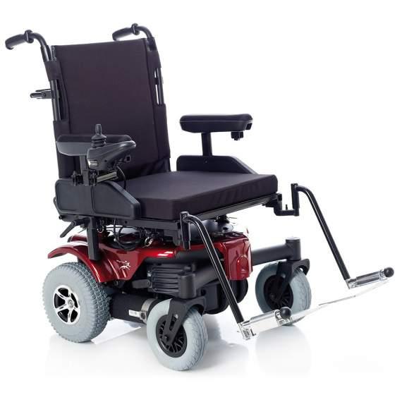 Silla de ruedas bariátrica Sepang 200 kg - Silla eléctrica bariátrica con capacidad para 205Kg.