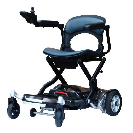 Silla eléctrica de aluminio Paddock - Paddock es una silla eléctrica ultraligera de aluminio, fabricada con materiales de alta calidad y con sistema de funciones inteligentes