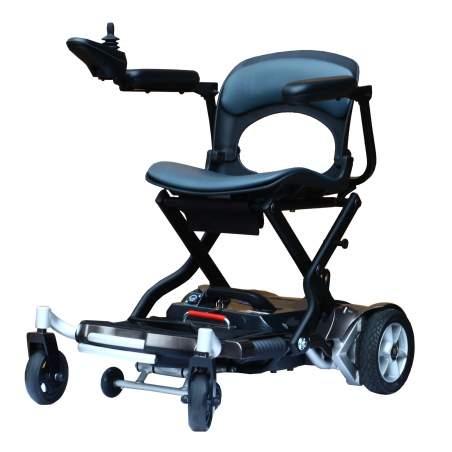 Chaise électrique en aluminium Paddock