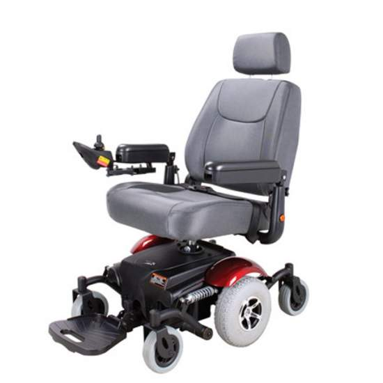 Electric wheelchair Sochi 1465SE - The electric wheelchair SOCHI 1464SE comes as the new SUV market.