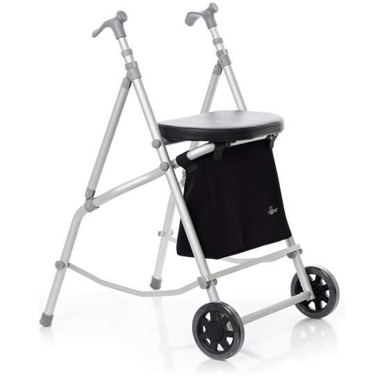 Gran Via 2 WALKER 2 WHEELS + SEAT + BAG - Gran Via 2 WALKER 2 WHEELS + SEAT + BAG