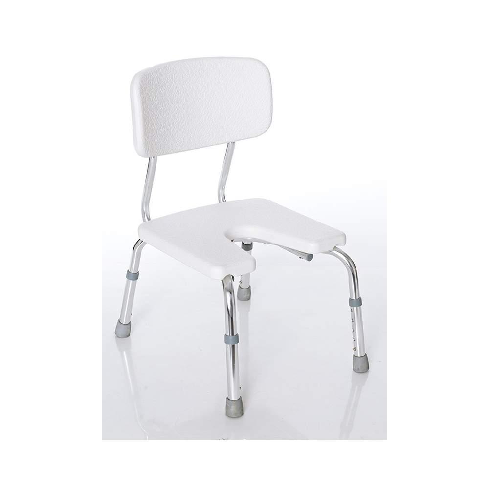 Niagara silla respaldo hueco perineal ducha ba o - Silla de bano ortopedica ...
