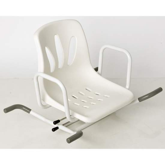 MIAMI ROTATING BATH SEAT PAINTED STEEL - MIAMI ROTATING BATH SEAT PAINTED STEEL