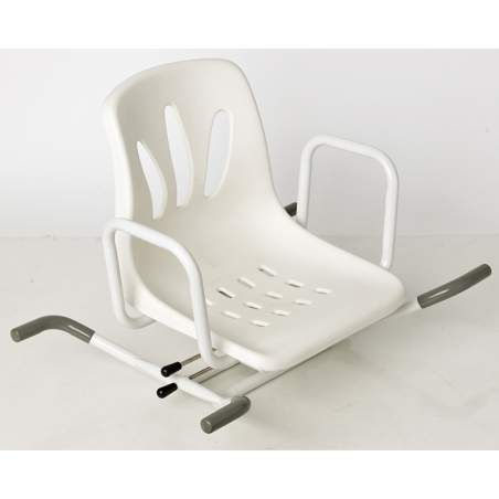 MIAMI ROTATING BATH SEAT PAINTED STEEL