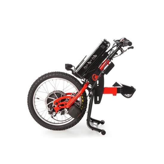 Handbike BATEC ELECTRIC -  ELECTRIC BATEC a handbike you can enjoy a 2 in 1: a single solution that will revolutionize your mobility outdoors without having to give up the benefits of your manual wheelchair. It is the ultimate mobility tool.