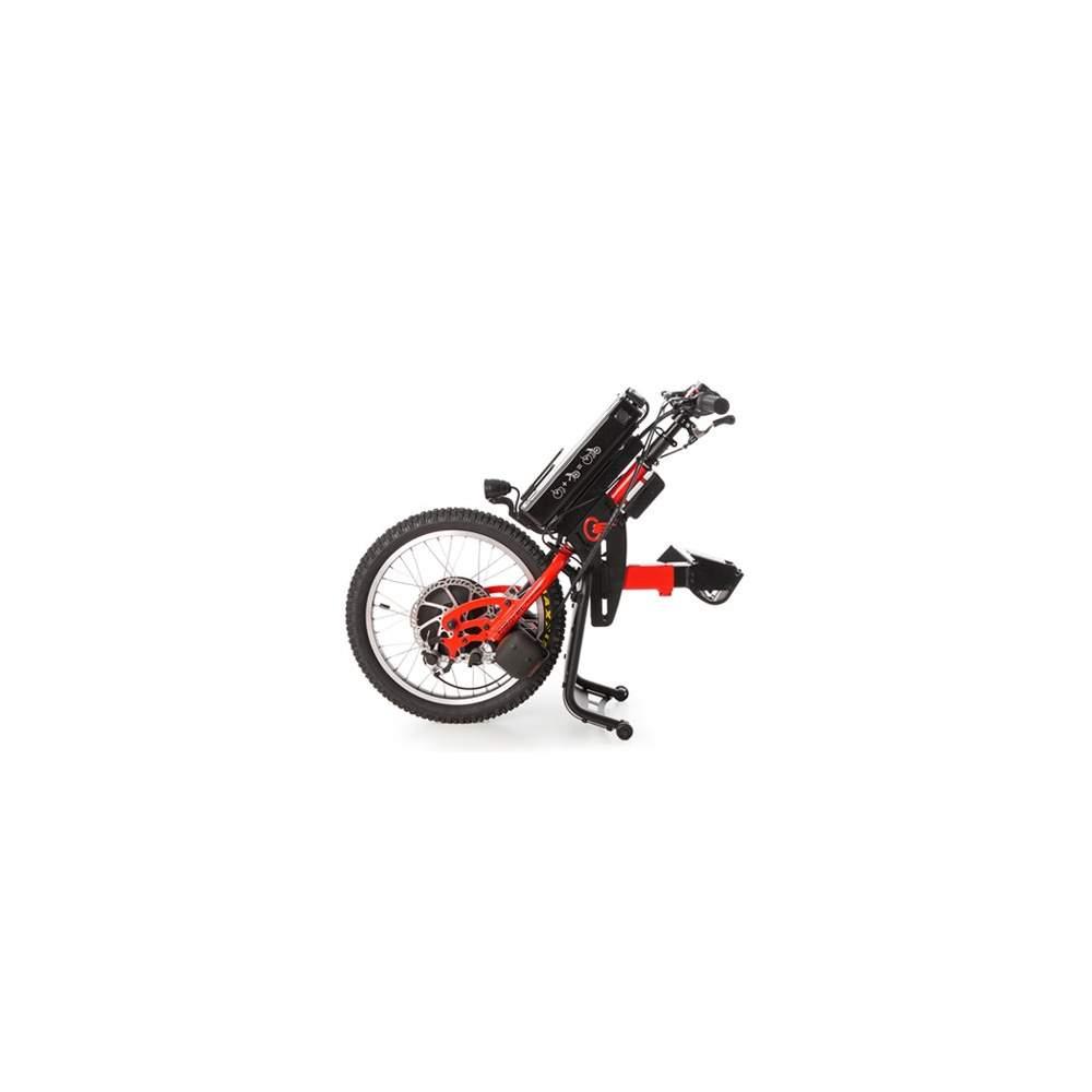 Handbike BATEC ELÉCTRICO - Con un handbike BATEC ELÉCTRICO podrás disfrutar de un 2 en 1: una solución única que revolucionará tu movilidad en exteriores sin tener que renunciar a las ventajas de tu silla...