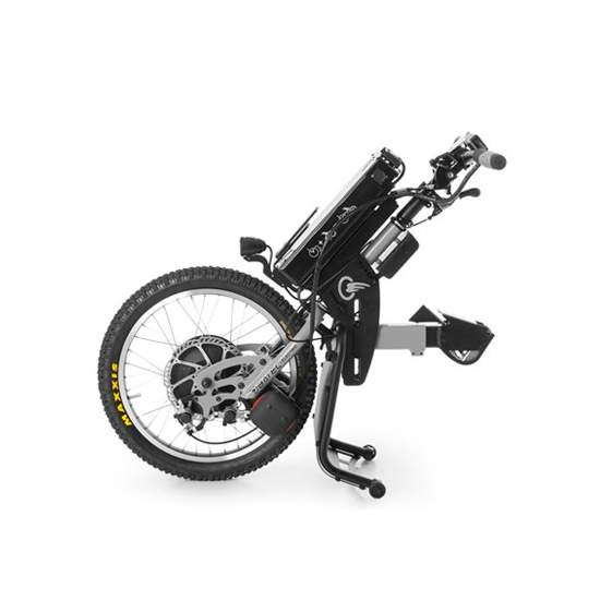 Tetra ELECTRIC handbike BATEC -  With TETRA ELECTRIC BATEC handbike you can enjoy a 2 in 1: a single solution that will revolutionize your mobility outdoors without having to give up the benefits of your manual wheelchair.