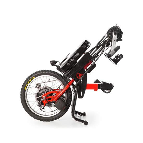 Tetra Hybrid handbike BATEC - The handbike BATEC TETRA HYBRID is our coupled electrically assisted handbike designed for those users with the lower and upper extremities affected by injury, such as quadriplegia and related disabilities. They can make a healthy...