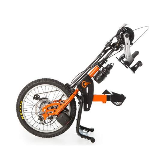 Tetra BATEC hand handbike -  The handbike BATEC MANUAL TETRA is coupled to our manual wheelchair propulsion designed for those with lesions affecting both lower limbs as superior, as quadriplegia and related injuries handbike. Connect it to your wheelchair and...