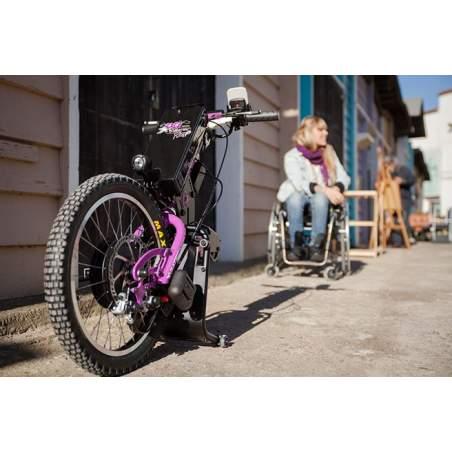 Handbike BATEC Purple ELÉCTRICO Tetra