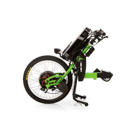 Rapid BATEC Handbike -  The RAPID BATEC a Special Edition of handbike BATEC ELECTRIC designed for more advanced users. Kawasaki green color, BATEC RAPID has unique components such as hydraulic brakes, handlebars and fender carbon fiber and which undoubtedly...