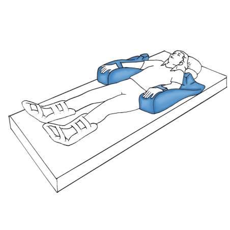 het voorkomen van doorligwonden