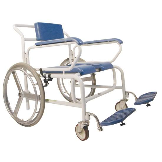 Chaise de douche à roulettes XL AD555XL - Chaise de douche à roulettes XL AD555XL