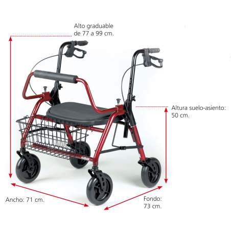Andador Maxi XL rolator AD150XL