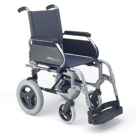 Breezy 300 rodas cadeira de rodas pequenas - Cadeira dobrável de alumínio para facilitar o transporte  Disposição do Código12210015