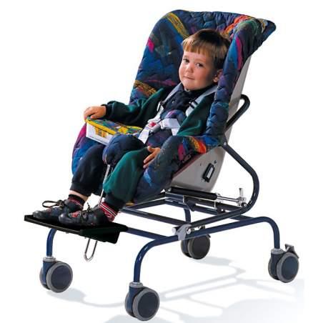 sistema di controllo posturale del sedile Snug