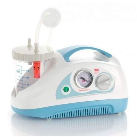 Aspirateur portatif de sécrétions d'aspiration 40 litres minute.