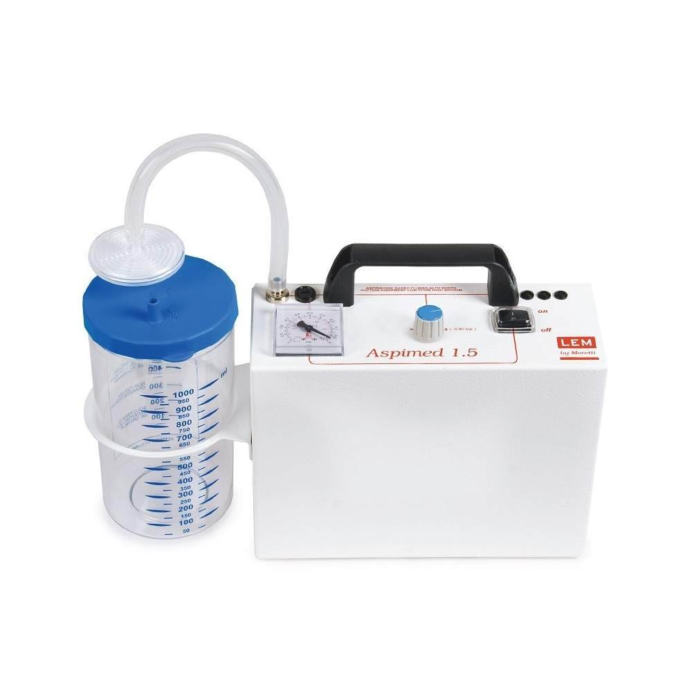 Portable suction secretions. Aspiration 18 liters minute. - Portable suction secretions. Aspiration 18 liters minute.