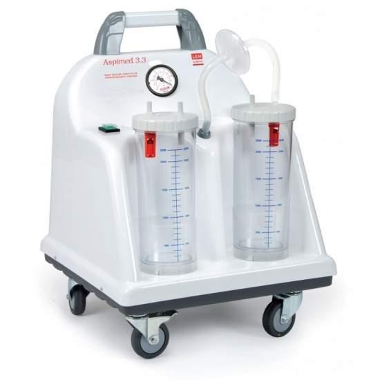 Vácuo portátil de sucção cirúrgica 60 litros minuto