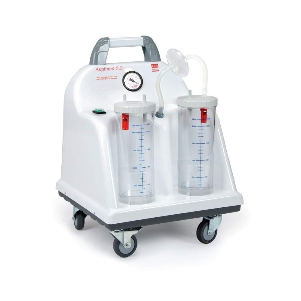 Aspirateur portatif aspiration chirurgicale 60 litres minute