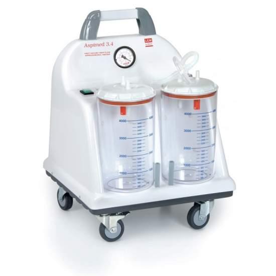 Aspirador quirurgico portatil aspiracion 90 litros minuto - Aspirador quirurgico portatil aspiracion 90 litros minuto