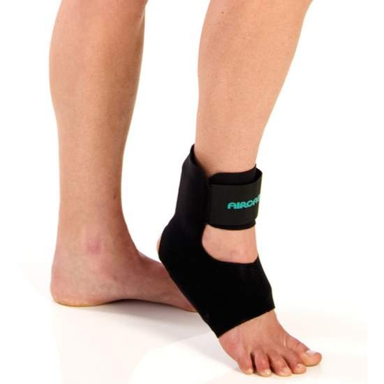 Aircast Air Heel Ortesis de tobillo - Aircast Air Heel es una ortesis de tobillo diseñada especificamente para tratar la fascitis plantar y la tendinitis del tendón de Aquiles.