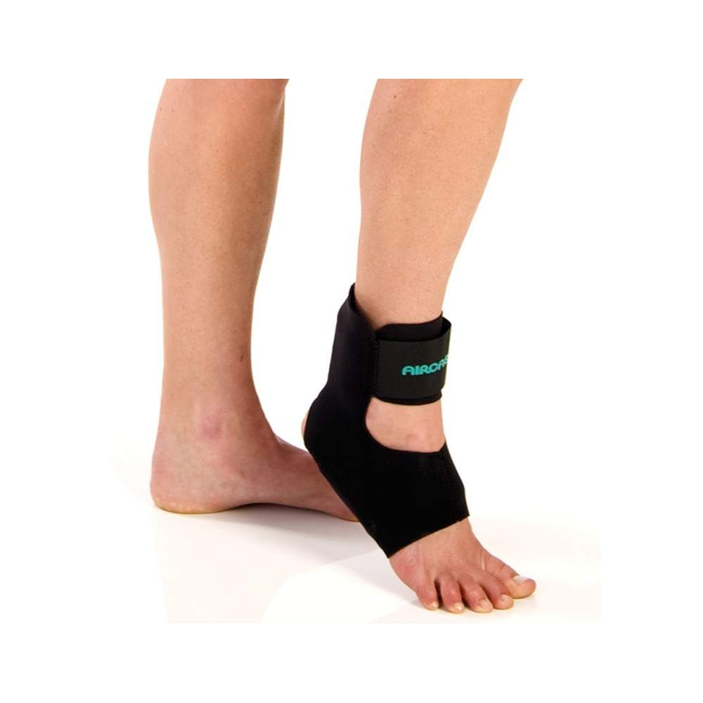 Air Aircast ankle orthosis Heel -  Heel Air Aircast ankle brace is designed specifically to treat plantar fasciitis and Achilles tendinitis.